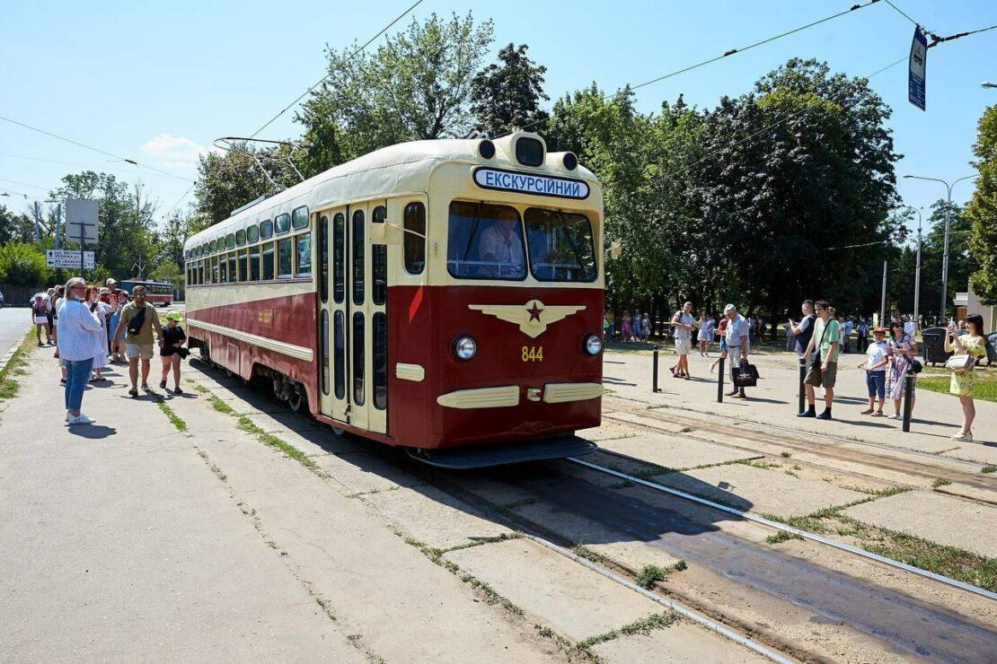 Новости Харькова: харьковчане отметили 115-летний юбилей трамвая