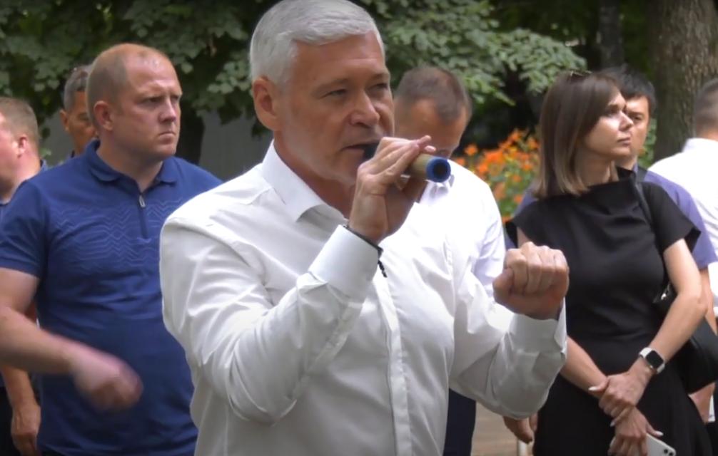 Новости Харькова: Игорь Терехов встретился с жителями Салтовки