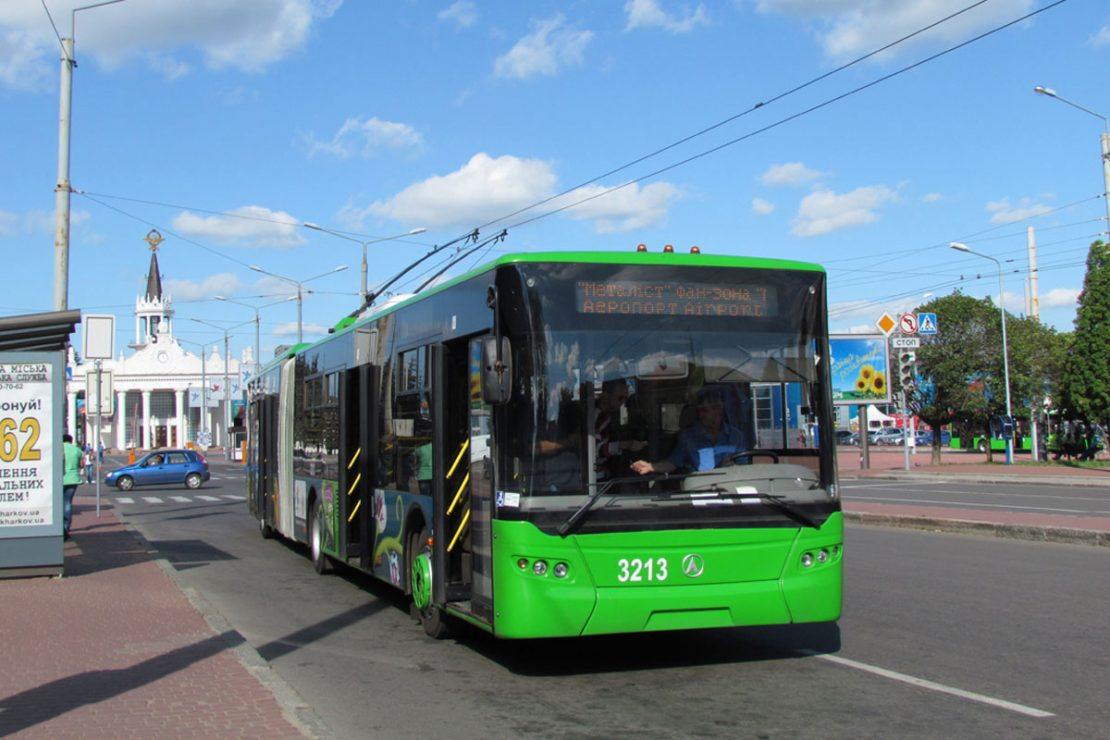 Новости Харькова: маршрут 36 троллейбуса