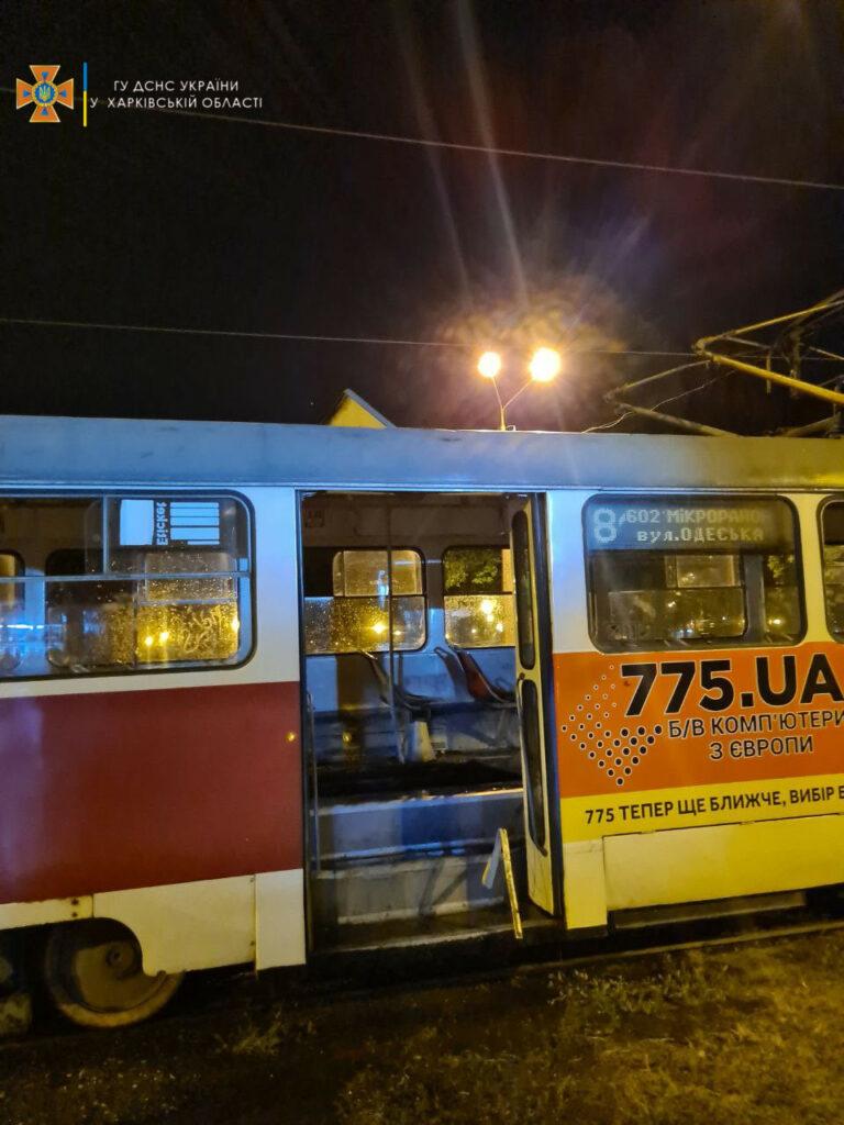 Новости Харькова:  В трамвае №8 во время движения вспыхнул пожар