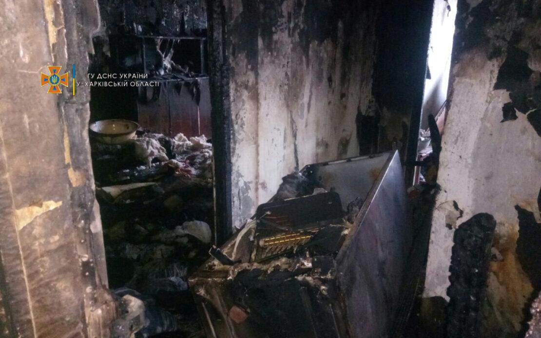 Пожар на Харьковщине: В Балаклее горел многоэтажный жилой дом