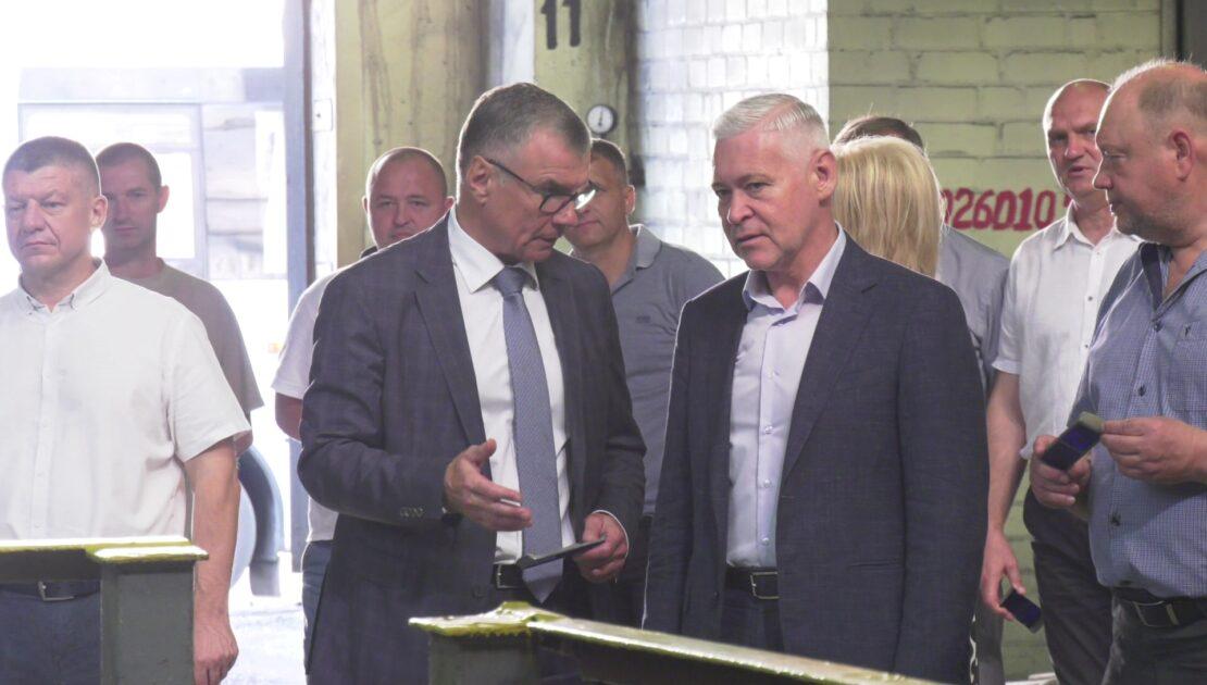 Новости Харькова: Игорь Терехов посетил Турбоатом