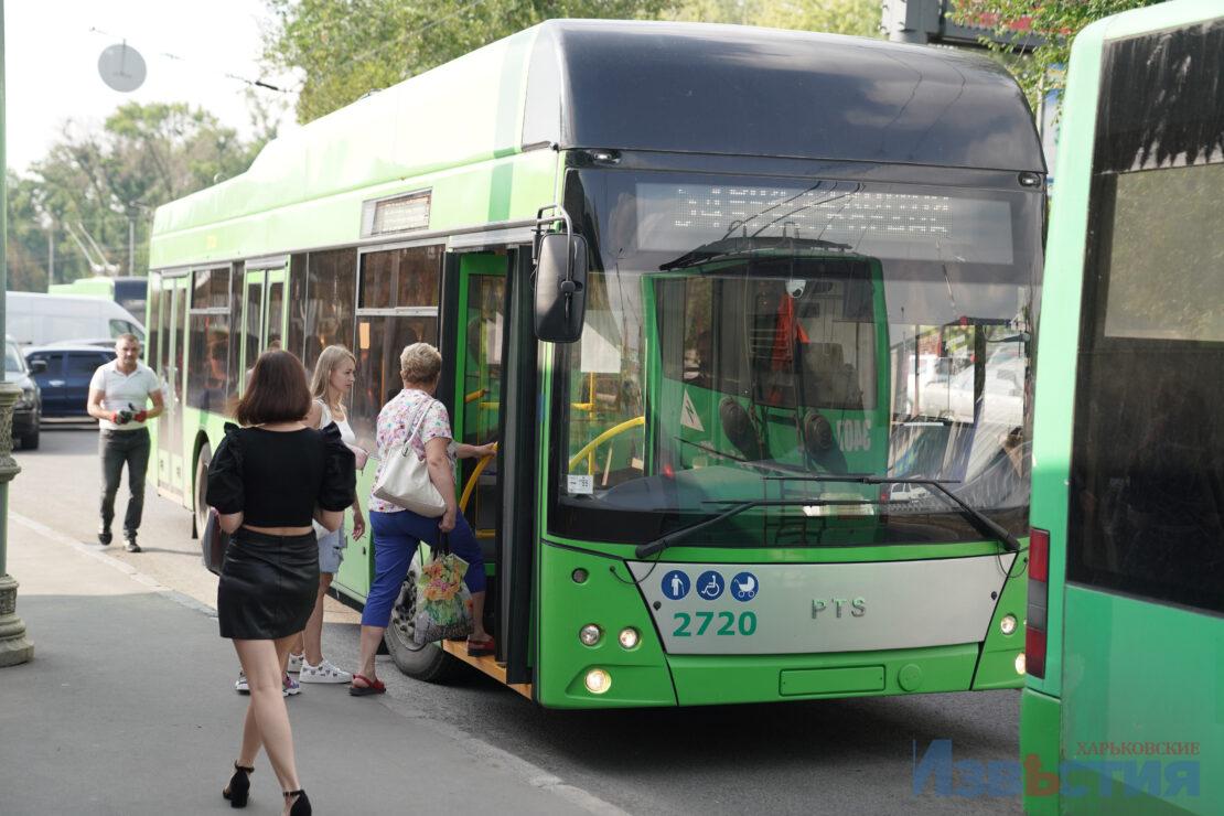 Новости Харькова: Запустили троллейбус на Рогань
