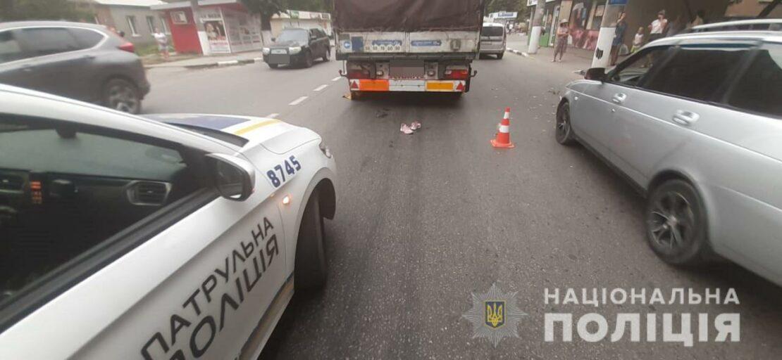ДТП в Харькове: На проспекте Любови Малой грузовик сбил пешехода