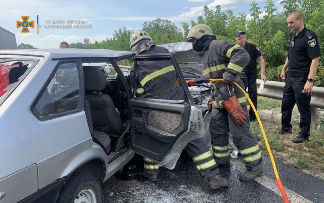 ДТП на Харьковщине: В Чугуеве произошло ДТП с пострадавшими