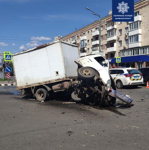 ДТП в Харькове: Полиция назвала виновника ДТП на проспекте Науки