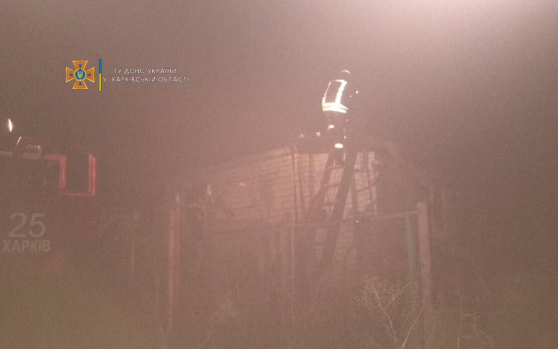 Новости Харькова: Дача под Харьковом сгорела  вместе с хозяином