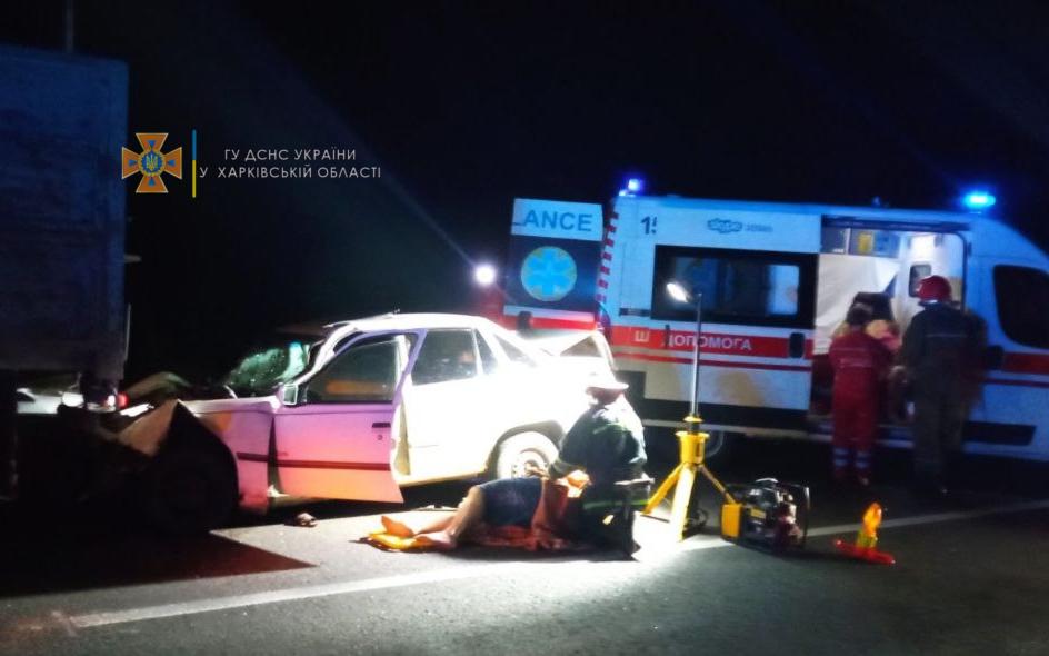 ДТП в Харьковской области: один человек погиб, пострадали дети