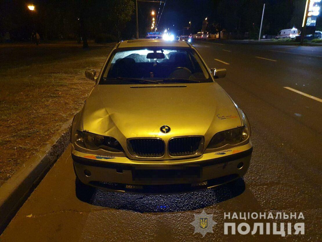 ДТП в Харькове: В Московском районе автомобиль сбил пешехода