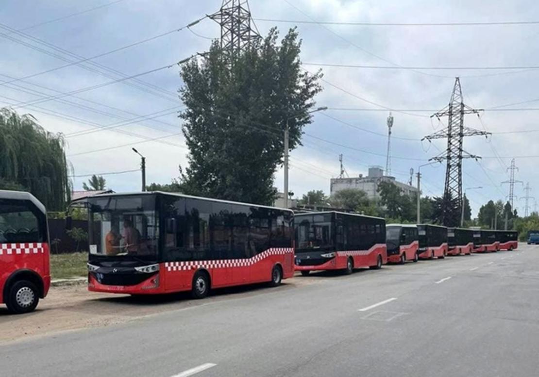 Новости Харькова: Автобусы Karsan приехали в Немышлянский район