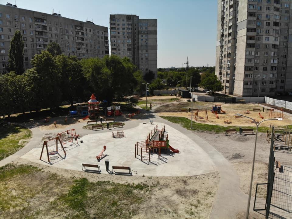 В двух харьковских дворах появятся современные зоны отдыха