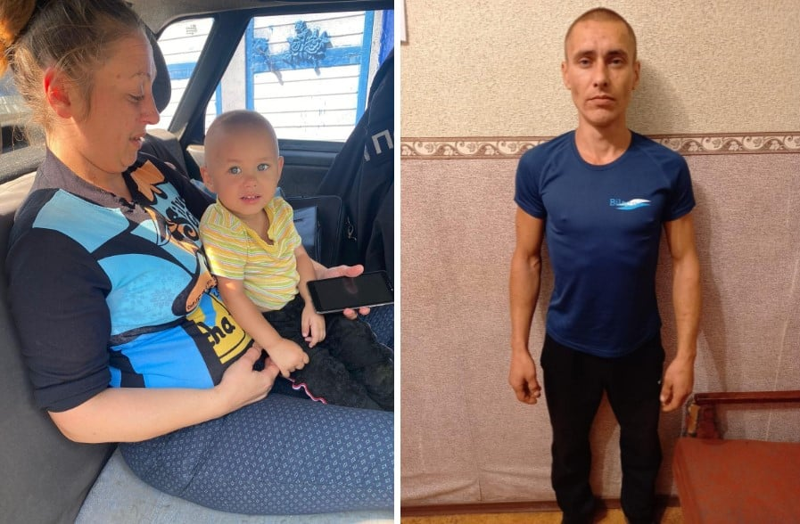 Помогите найти: Под Харьковом мужчина украл у матери ребенка