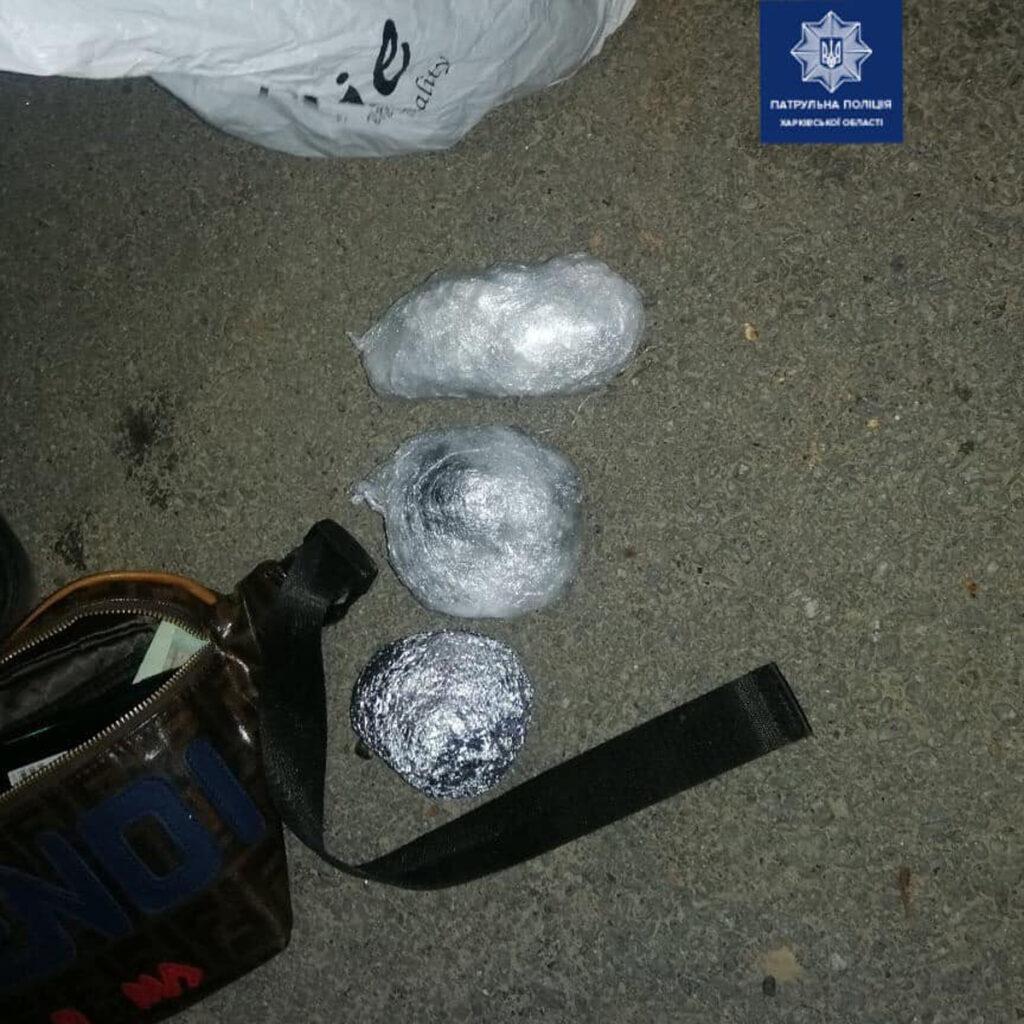 В Харькове на Отакара Яроша задержали мужчину с наркотиками