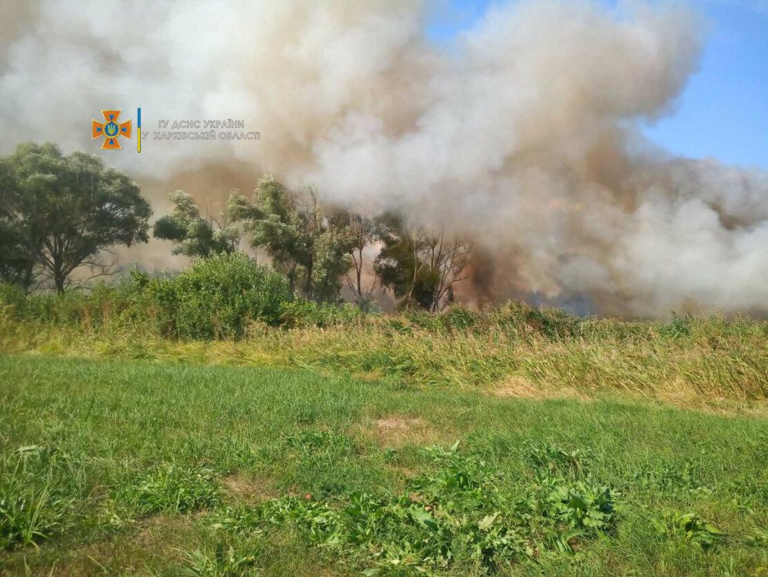 Новости Харькова: Спасатели потушили 26 пожаров