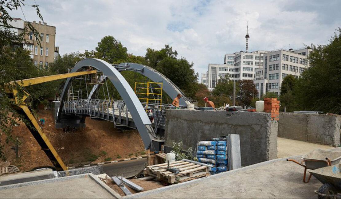 Новости Харькова: Зоологический мост откроют в День города