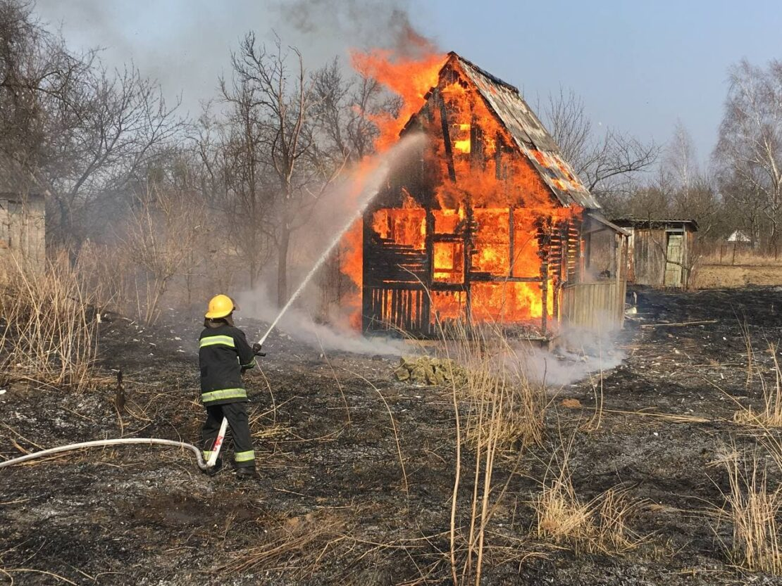 Новости Харькова: Спасатели потушили 39 пожаров