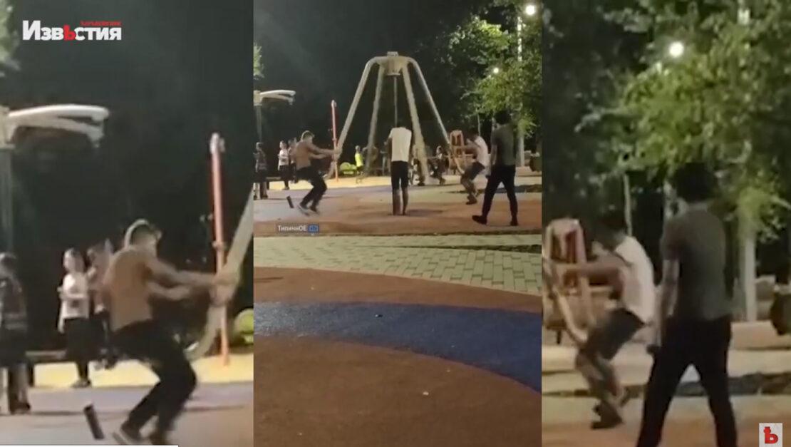 Новости Харькова: Детские площадки просят охранять от вандалов