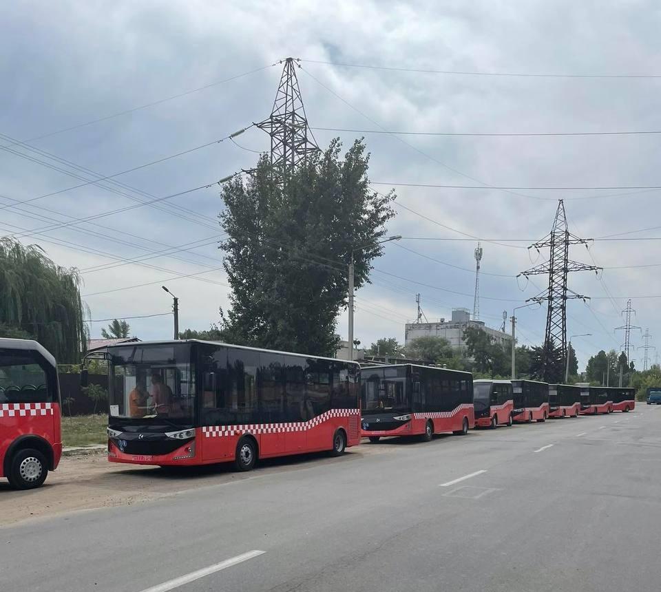 Новости Харькова: Автобусы Karsan приехали в Харьков