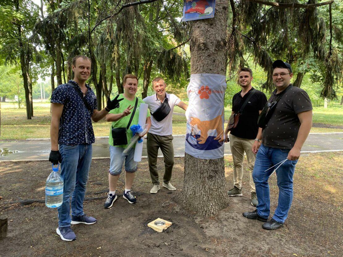 Новости Харькова: С заботой о животных - в городе ставят поилки
