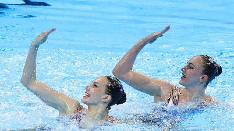 Харьковские синхронистки вышли в финал Олимпиады в Токио