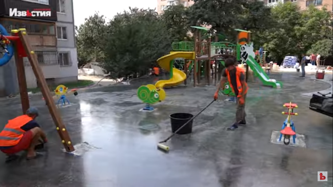 Новости Харькова: В Холодногорском районе строят мини-парк