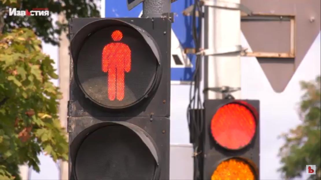 Новости Харькова: Новый светофор на улице Ньютона