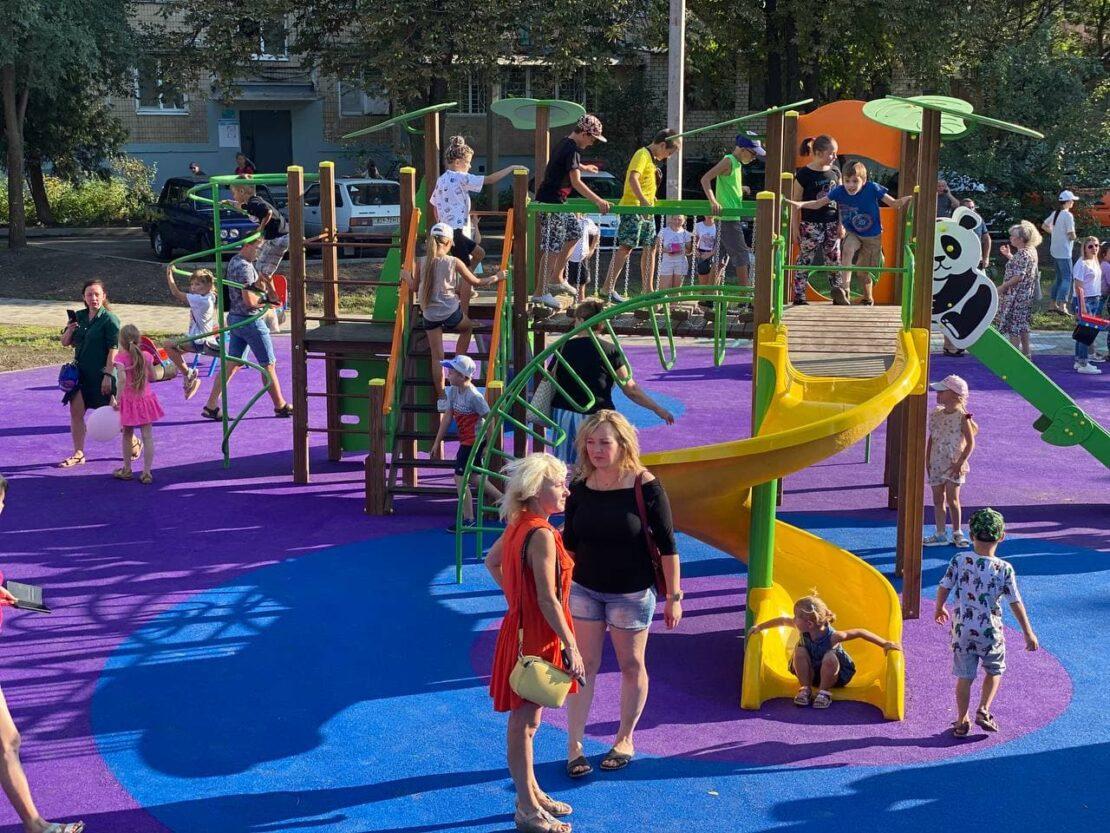 Новости Харькова: Открыли мини-парк на Жасминовом бульваре