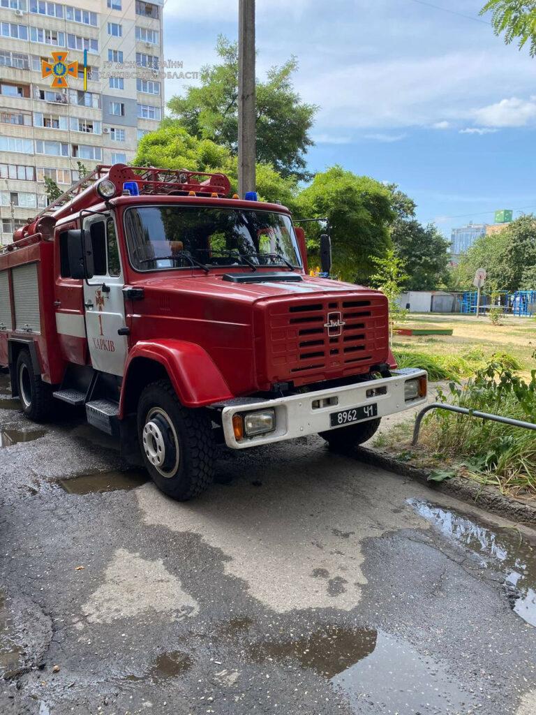 Новости Харькова: пожар на улице Новгородской, 44