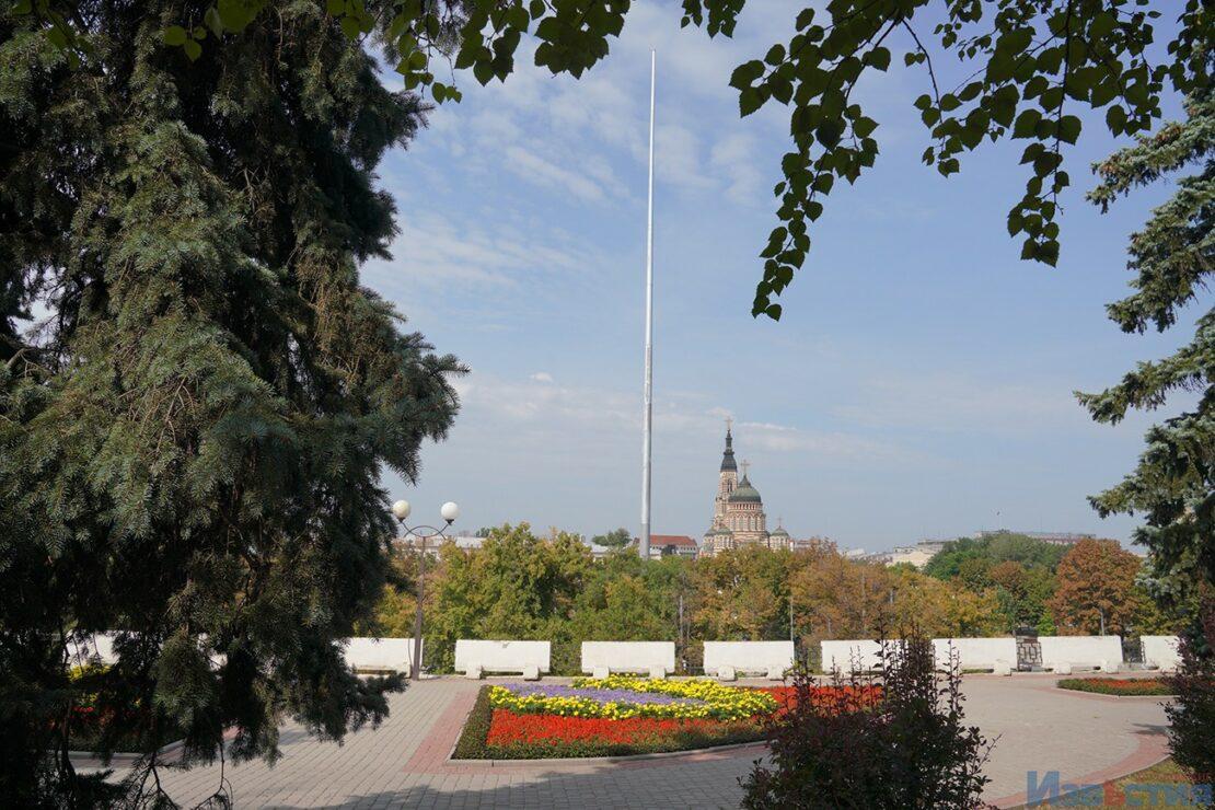 В Харькове откроют самый высокий флагшток в Европе