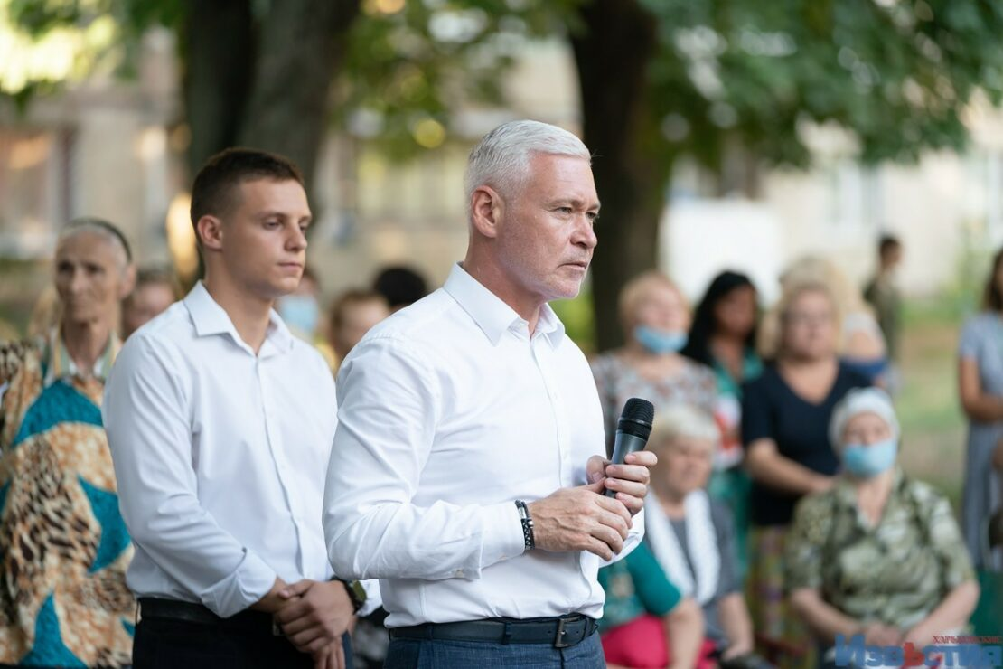 В Харькове Игорь Терехов встретился с жителями Новобаварского района