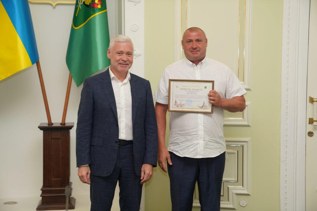 Новости Харькова: Терехов поздравил строителей