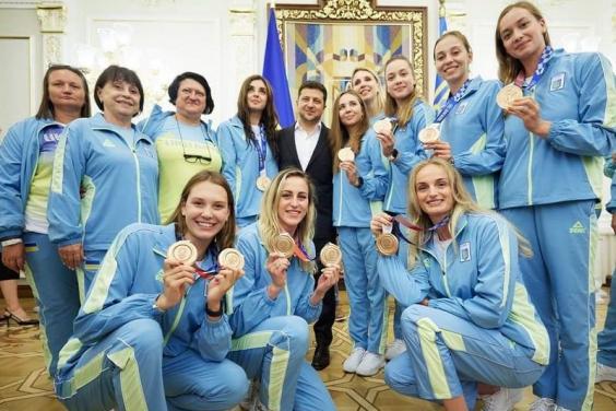 Спорт Харьков: Президент наградил призеров Олимпиады-2020