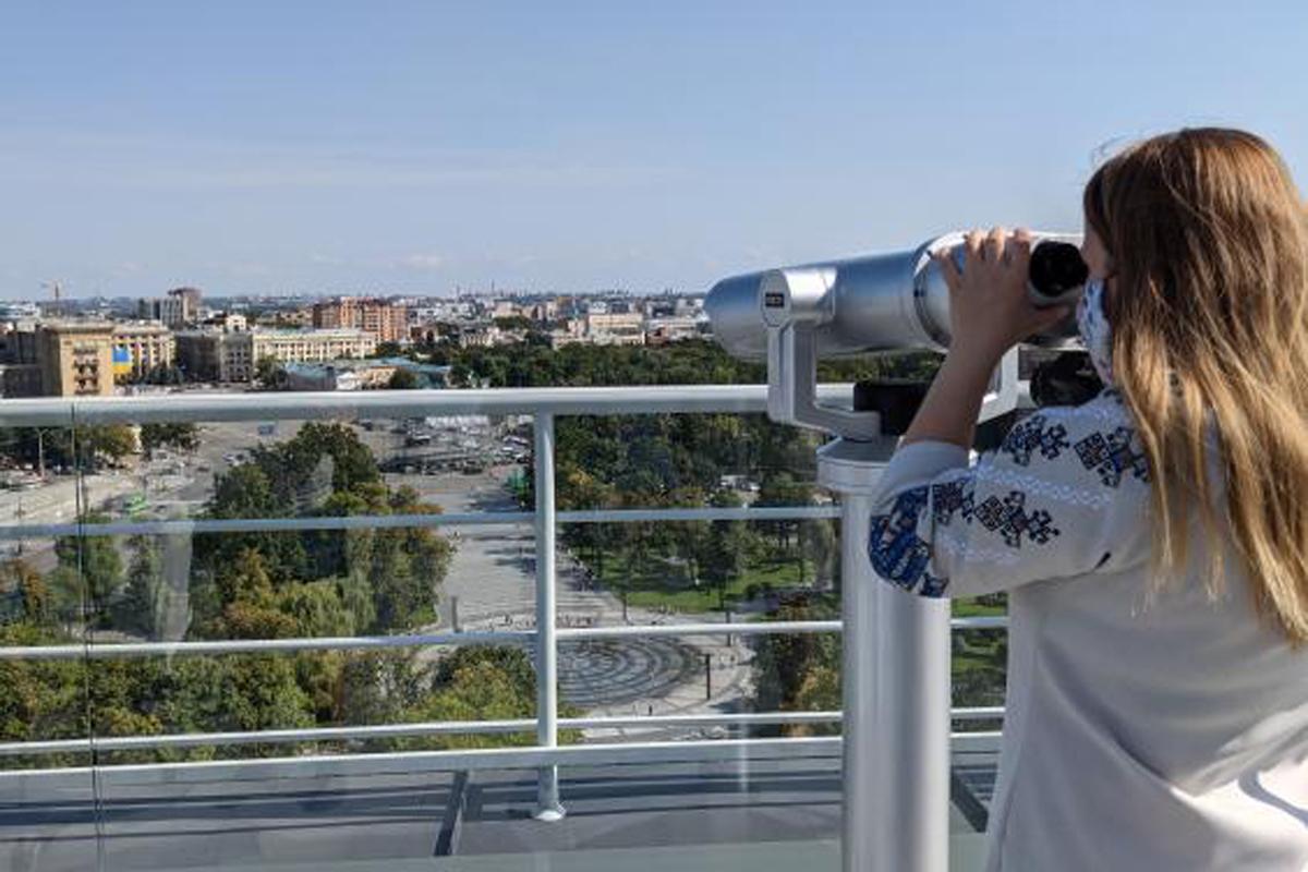 Новости Харькова: Экскурсии на смотровую площадку Госпрома