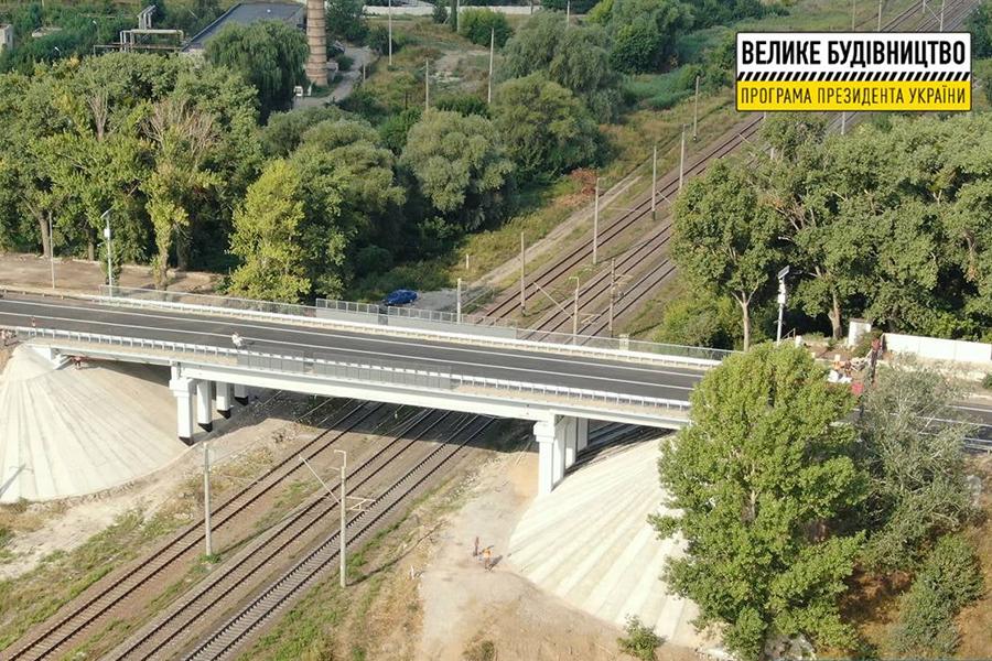 Новости Харькова: Песочинский мост открыли для транспорта