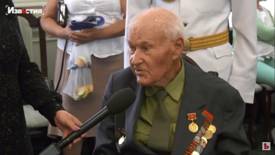 Новости Харькова: Приём для ветеранов и детей войны