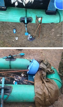 Новости Харькова: На Оскольском водохранилище браконьер выловил 25 лещей