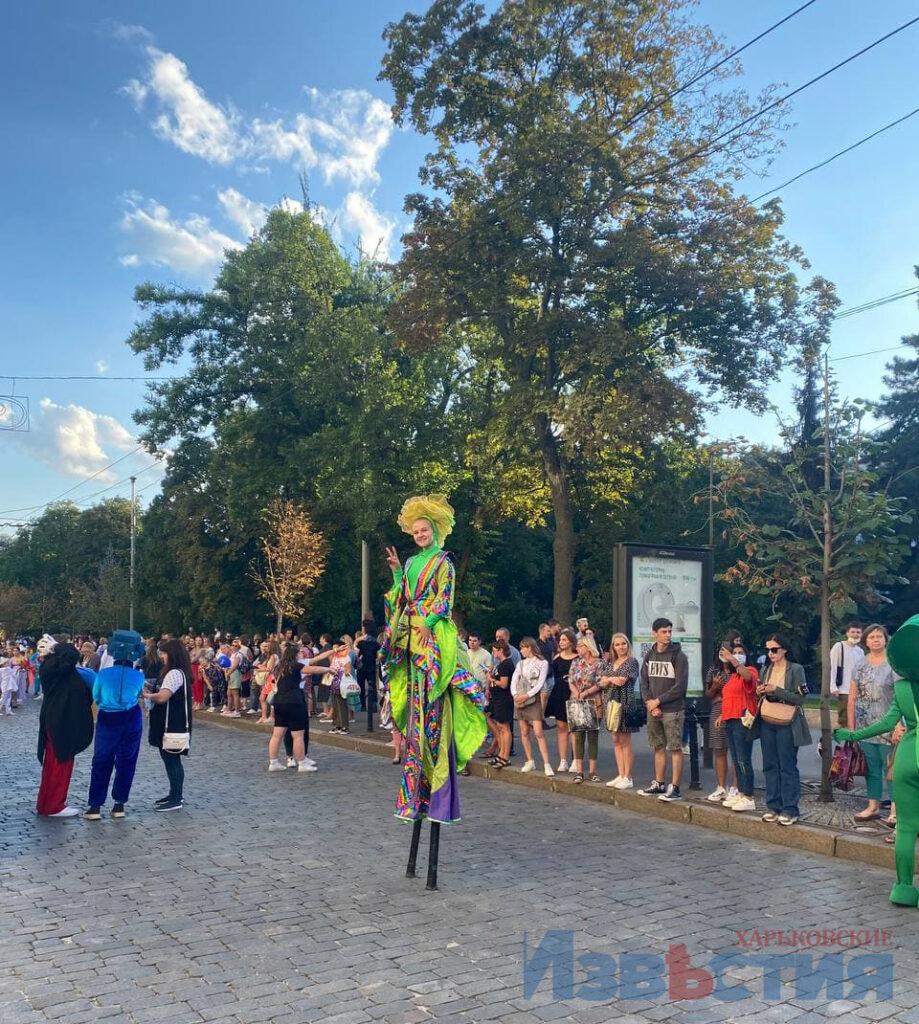 Новости Харькова: В центре карнавал ко Дню знаний