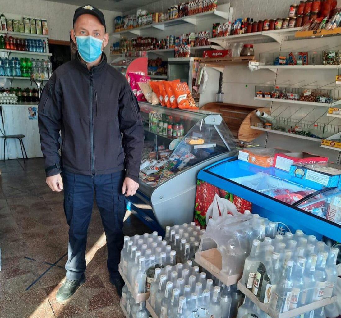Новости Харькова: Изъяли алкоголь и сигареты у торговцев