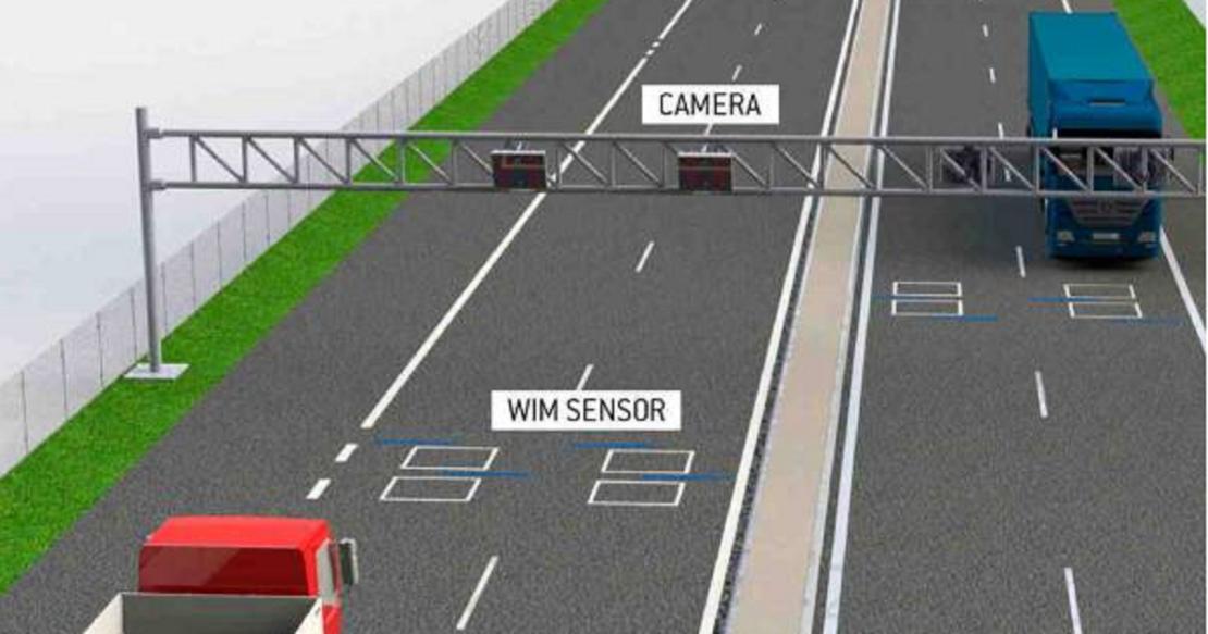 Весовой контроль на дорогах: система WiM на Харьковщине