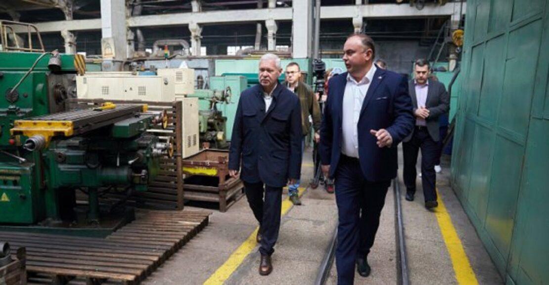 Новости Харькова: Терехов посетил КБ имени Морозова