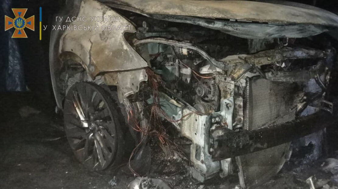 Свидетелям поджога автомобиля в Эсхаре обещают вознаграждение
