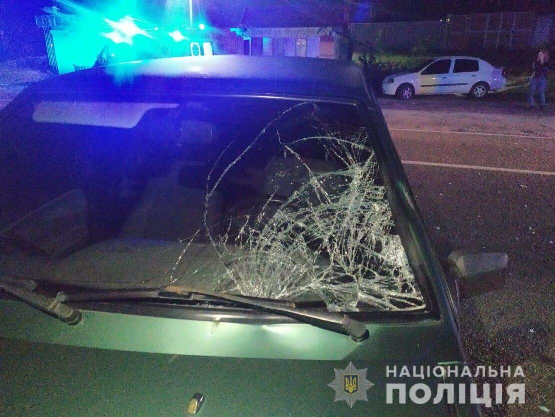 Новости Харькова: В Солоницевке ВАЗ сбил женщину на пешеходном переходе