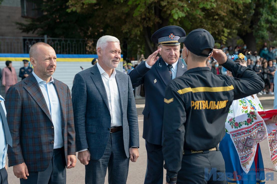Новости Харькова: будущие спасатели приняли присягу