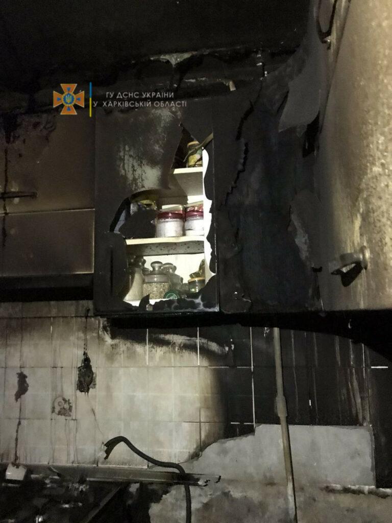 В Харькове горела квартира в девятиэтажке на Алексеевке. Пожар в Харькове