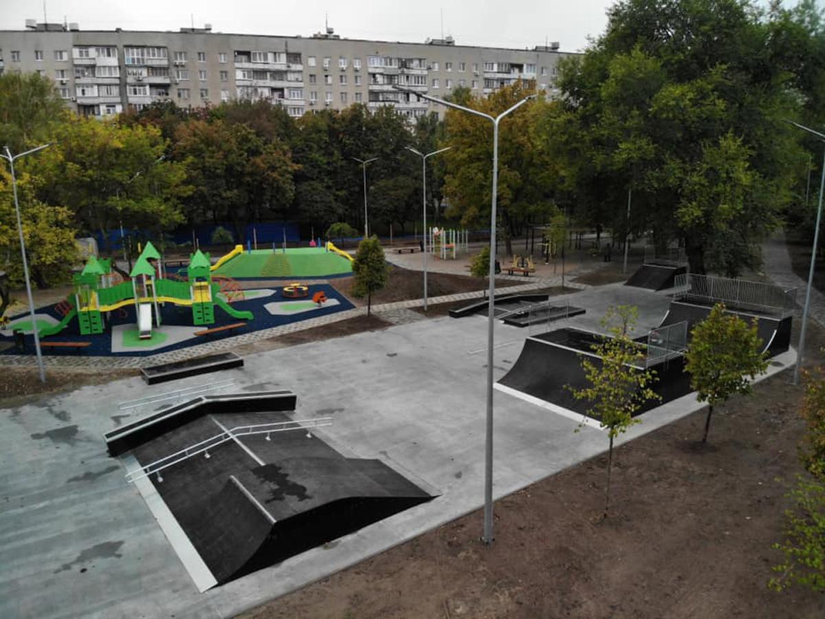 Сквер на Клочковской: фото после реконструкции. Новости Харькова
