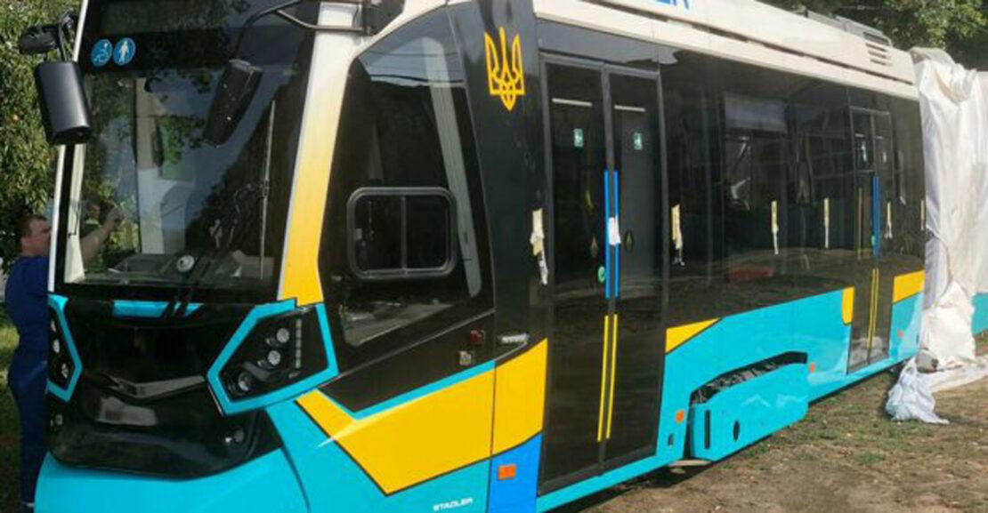 Новости Харькова: Трамвай швейцарской компании «Stadler»