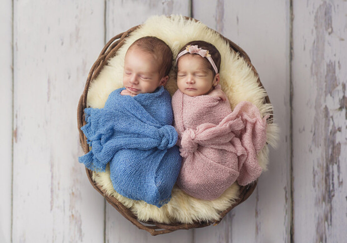 В Харькове родилась королевская двойня 6 сентября