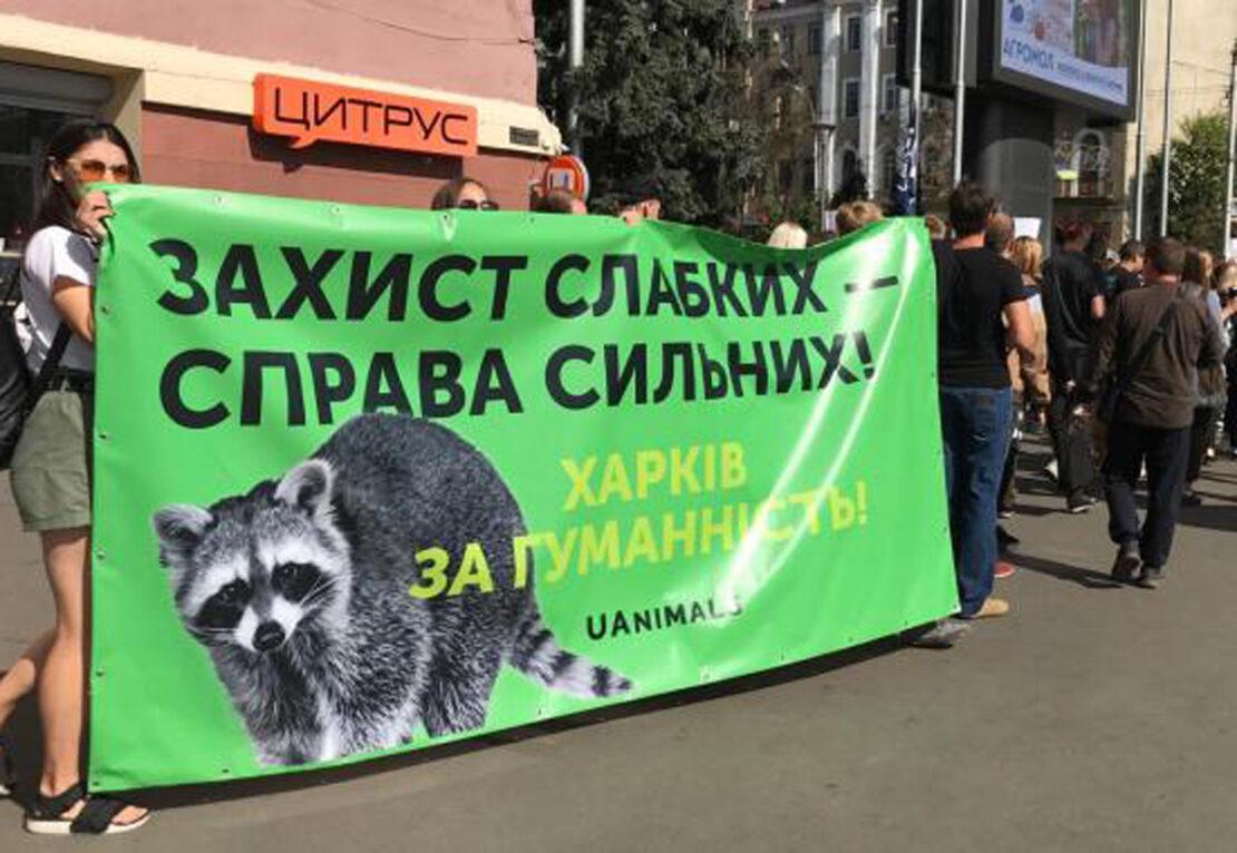 В Харькове пройдет марш в защиту животных