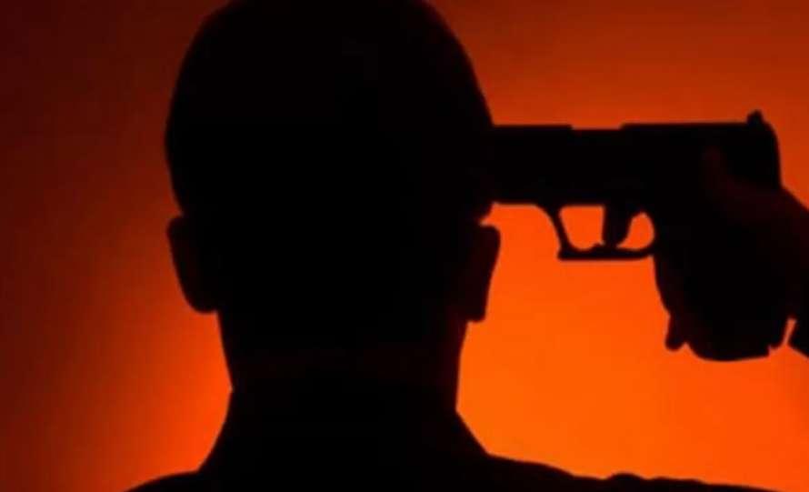 В Харькове мужчина прострелил себе правый висок