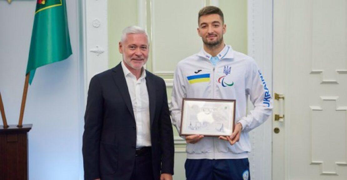 Новости Харькова: Игорь Терехов наградил паралимпийцев
